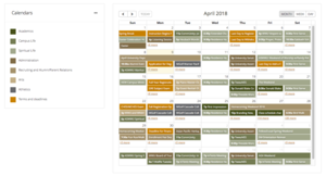 Image indicating successful addition of an event to the WWU online calendar.