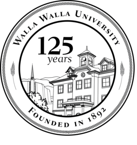 Official logo for the 125th anniversary of Walla Walla University.