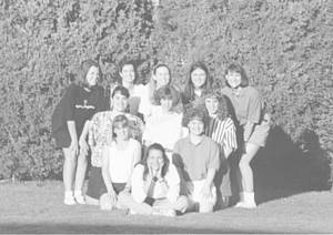 Group picture of Women at Walla Walla College