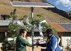 The country of Peru is currently a main focus for EWB-WWU. Students from the WWU School of Engineering have been working for the past two years in the communities of Japurá and Labrumani to provide electricity for hundreds of people