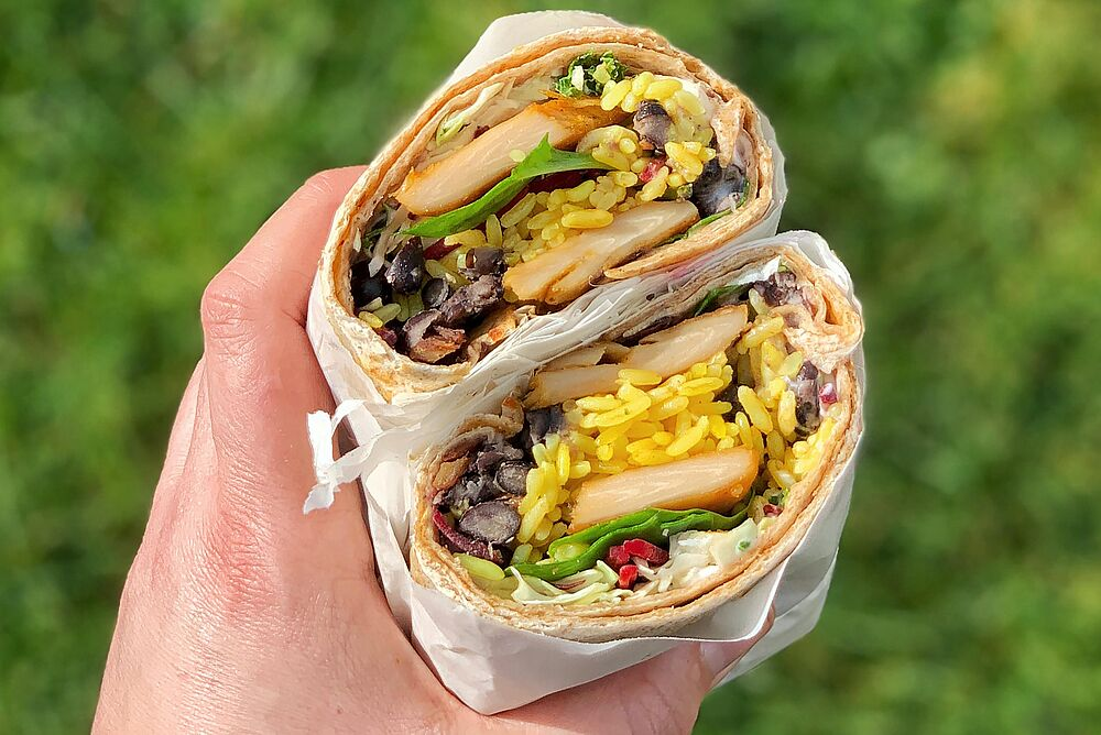 yummy looking burrito