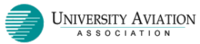 University Aviation Association logo