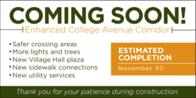 Exciting things are happening on campus! Read the latest news here about construction projects and the best way to navigate around the ongoing work.