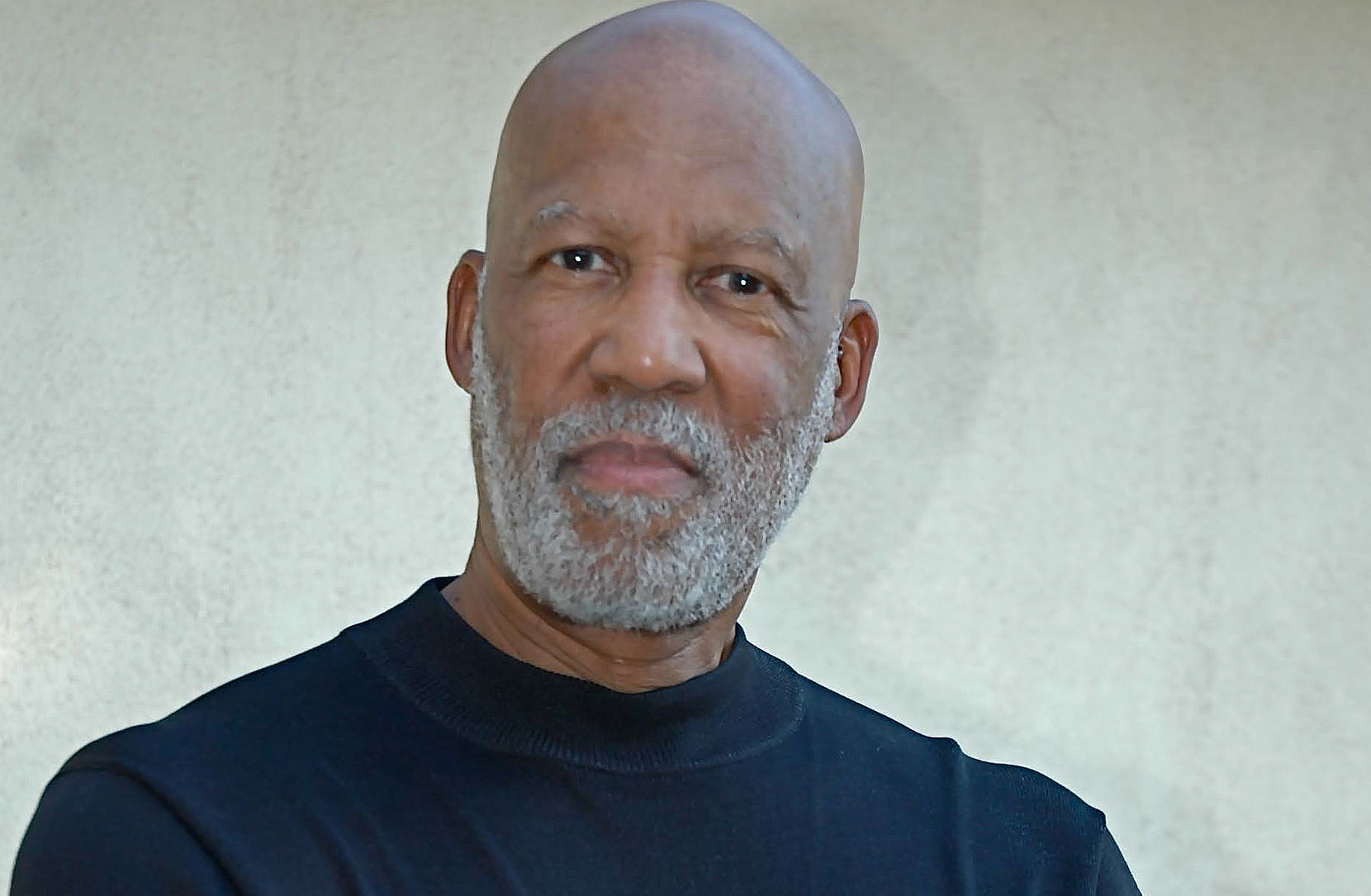 Portrait of Terrence Roberts in a black sweater