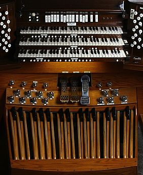 The University Church Casavant pipe organ has 4,982 pipes, which make up 89 groups, or ranks.
