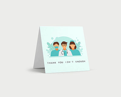 Thank You Isn't Enough card