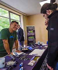 More 100 WWU students met with local employers to discuss internship opportunities and future job positions.