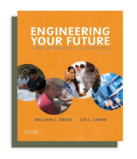 Book cover: Engineering your future