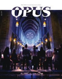 Opus Department of Music Newsletter