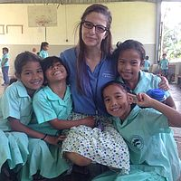 Lauren Epperson taught elementary school in Pohnpei during the 2014-15 school year.