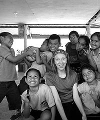 MaKayla Hample taught elementary education in Kosrae, Federated States of Micronesia.