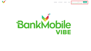 BankMobileVibe.com screen